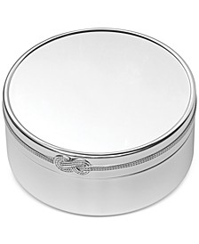 Infinity Large Round Keepsake Box