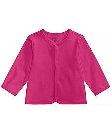 Cotton Cardigan, Baby Girls or Baby Boys, Created for Macy's