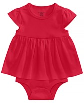 b0759c513616 Red Baby Girl Clothes - Macy s
