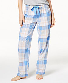 Jenni By Jennifer Moore Printed Soft Cotton Pajama Pants, Created for Macy's