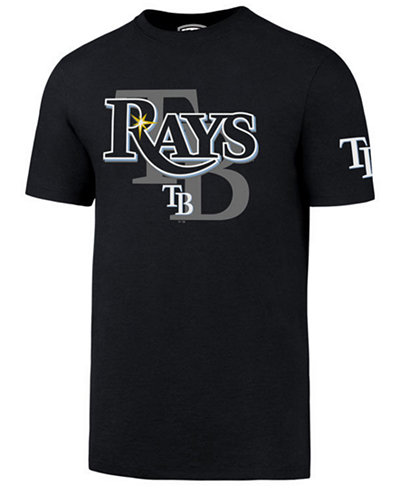 '47 Brand Men's Tampa Bay Rays On-Deck Rival T-Shirt