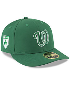 New Era Washington Nationals St. Patty's Day Pro Light Low Crown 59Fifty Fitted Cap