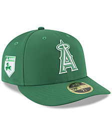 New Era Los Angeles Angels St. Patty's Day Pro Light Low Crown 59Fifty Fitted Cap