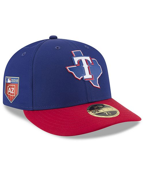 New Era Texas Rangers Spring Training Pro Light Low Profile 59Fifty ... 6601f5d47b46