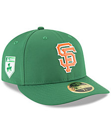 New Era San Francisco Giants St. Patty's Day Pro Light Low Crown 59Fifty Fitted Cap