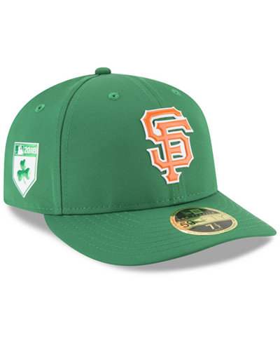wholesale dealer 1abea 6164f ... cap db12d 5f303  reduced new era san francisco giants st. pattys day  pro light low crown 59fifty fitted