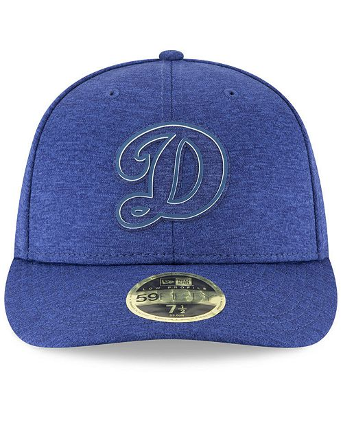 ... New Era Los Angeles Dodgers Clubhouse Low Crown 59Fifty Fitted Cap ... d11170a6c0b