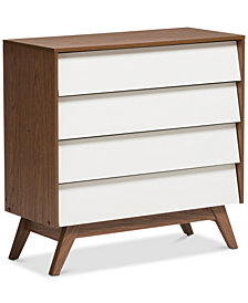Hildon 4-Drawer Chest, Quick Ship