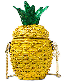 MICHAEL Michael Kors Straw Pineapple Crossbody