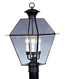 Livex Westover Outdoor Post Lantern