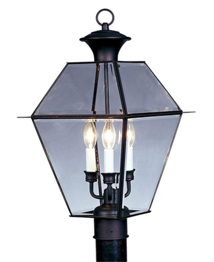 Livex - Westover Outdoor Post Lantern