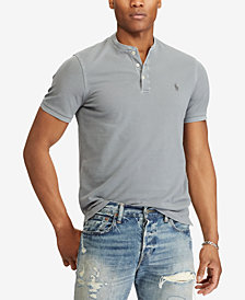 Polo Ralph Lauren Men's Big & Tall Featherweight Mesh Henley Shirt