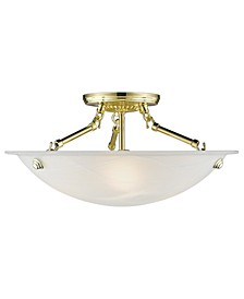 Oasis Semi Flush Mount