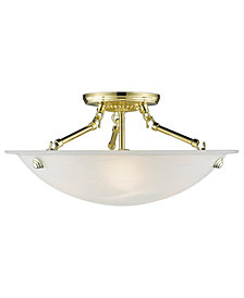 Livex Oasis Semi Flush Mount