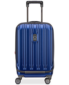 "Delsey ConnecTech 19"" International Expandable Carry-On Spinner Suitcase"