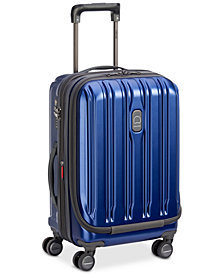 "Delsey ConnecTech 19"" International Expandable Carry-On Spinner Suitcase, Created for Macy's"