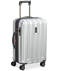"Delsey ConnecTech 21"" Spinner Expandable Carry-On Suitcase, Created for Macy's"