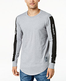 G-Star Men's Swando Stripe Logo Long Sleeve T-Shirt, Created for Macy's