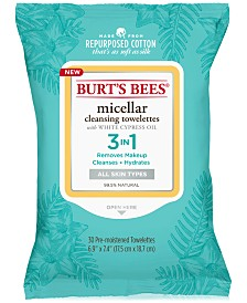 Burt's Bees Micellar Cleansing Towelettes, 30-Pk.