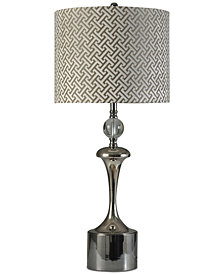 Stylecraft Nickel Table Lamp