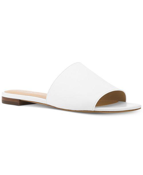 7edaa22a97f4 Michael Kors Shelly Slide Sandals   Reviews - Sandals   Flip Flops ...