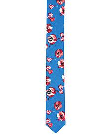 Original Penguin Men's Edberg Floral Skinny Tie
