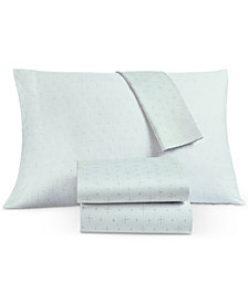 CLOSEOUT! Lucky Brand Laguna 4-Pc. Queen Sheet Set, Created for Macy's