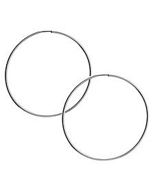 """1 1/2"""" Large Endless Hoop Earrings"""