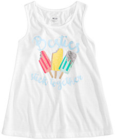 Max & Olivia Graphic-Print Pajama Tank, Little Girls & Big Girls, Created for Macy's