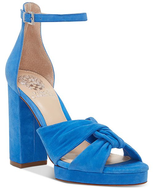 c4b5fbfeb3c8 Vince Camuto Corlesta Knotted Platform Dress Sandals   Reviews ...