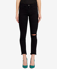Buffalo David Bitton Faith Distressed Skinny Jeans