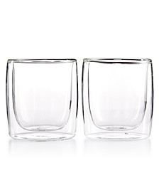 Zwilling Sorrento Double Wall Tumbler Glasses, Set of 2