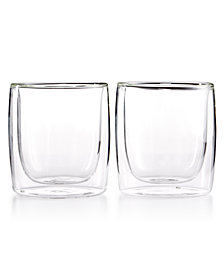 Zwilling J.A. Henckels Sorrento Double Wall Tumbler Glasses, Set of 2
