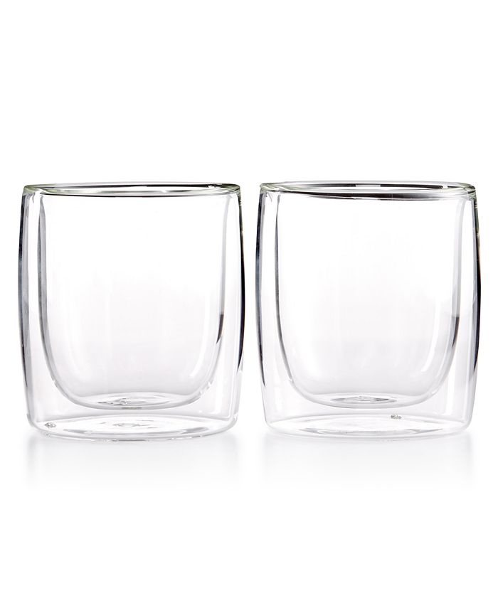J.A. Henckels - Zwilling Sorrento Double Wall Tumbler Glasses, Set of 2