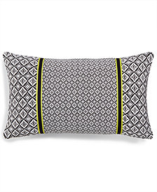 "LAST ACT! Lacourte Murray 14"" x 24"" Geometric Decorative Pillow, Created for Macy's"