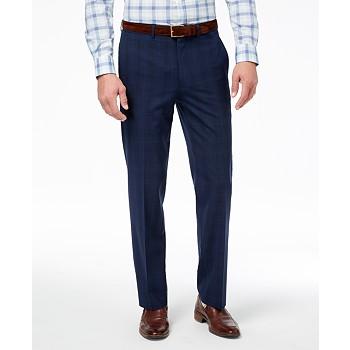 Ryan Seacrest Distinction Men's Ultimate Modern-Fit Stretch Suit Pants