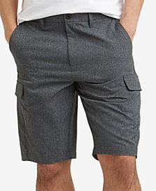 "Kenneth Cole Men's Mesh Tech Cargo 9"" Shorts"