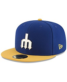 Seattle Mariners Golden Finish 59FIFTY Cap