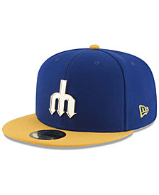 New Era Seattle Mariners Golden Finish 59FIFTY Cap