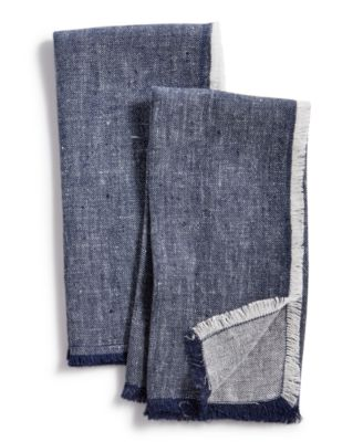 2-Pc. Denim Napkins Set, Created for Macy's