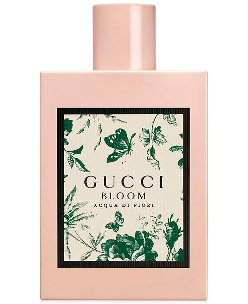 Gucci Bloom Acqua Di Fiori Eau De Toilette Spray 33 Oz Reviews
