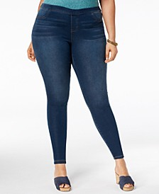 Plus Size Ankle Jeggings, Created for Macy's