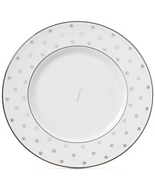 Larabee Road Platinum  Monogram Accent Plate