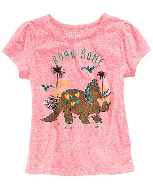 45b210f15f07 ... Epic Threads Dinosaur T-Shirt & Skirt, Toddler Girls, Created for  Macy's ...