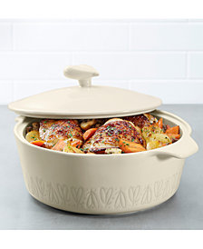 Ayesha Curry Stoneware 2.5-Qt. Round Casserole & Lid