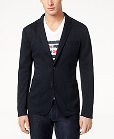 A|X Armani Exchange Men's Textured Sport Coat