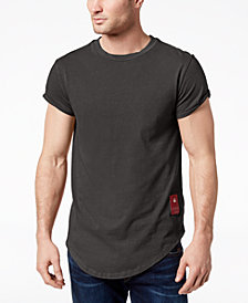 G-Star Men's Swando Curved Hem T-Shirt, Created for Macy's