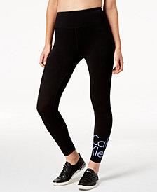 Calvin Klein Performance High-Waist Logo Leggings