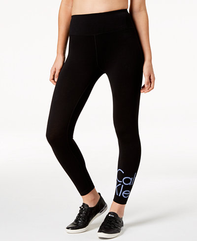Calvin Klein Performance High-Waist Logo Leggings