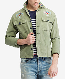 Polo Ralph Lauren Men's Classic Fit Graphic Shirt Jacket